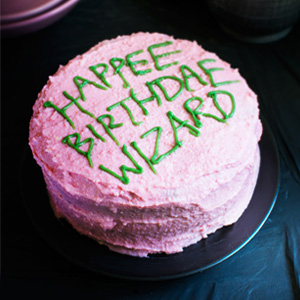 Harry Potter Birthday Cake Recipe