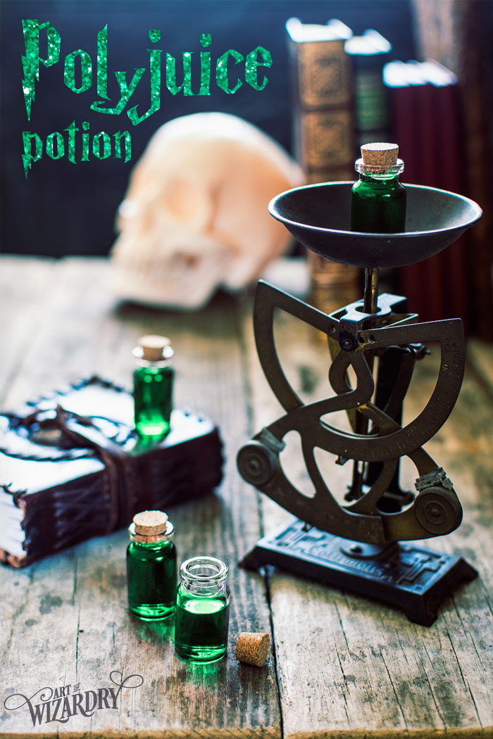 Harry Potter Polyjuice Potion recipe & free printable label | Art of Wizardry