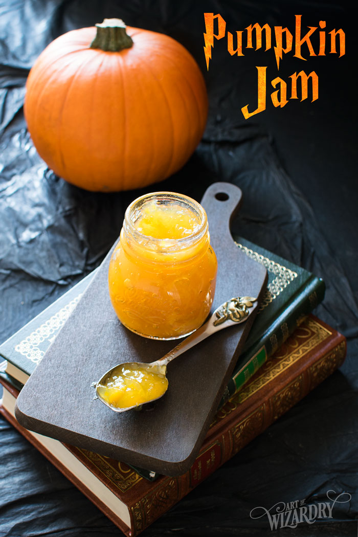 Pumpkin jam for Harry Potter pumpkin pasties | Art of Wizardry