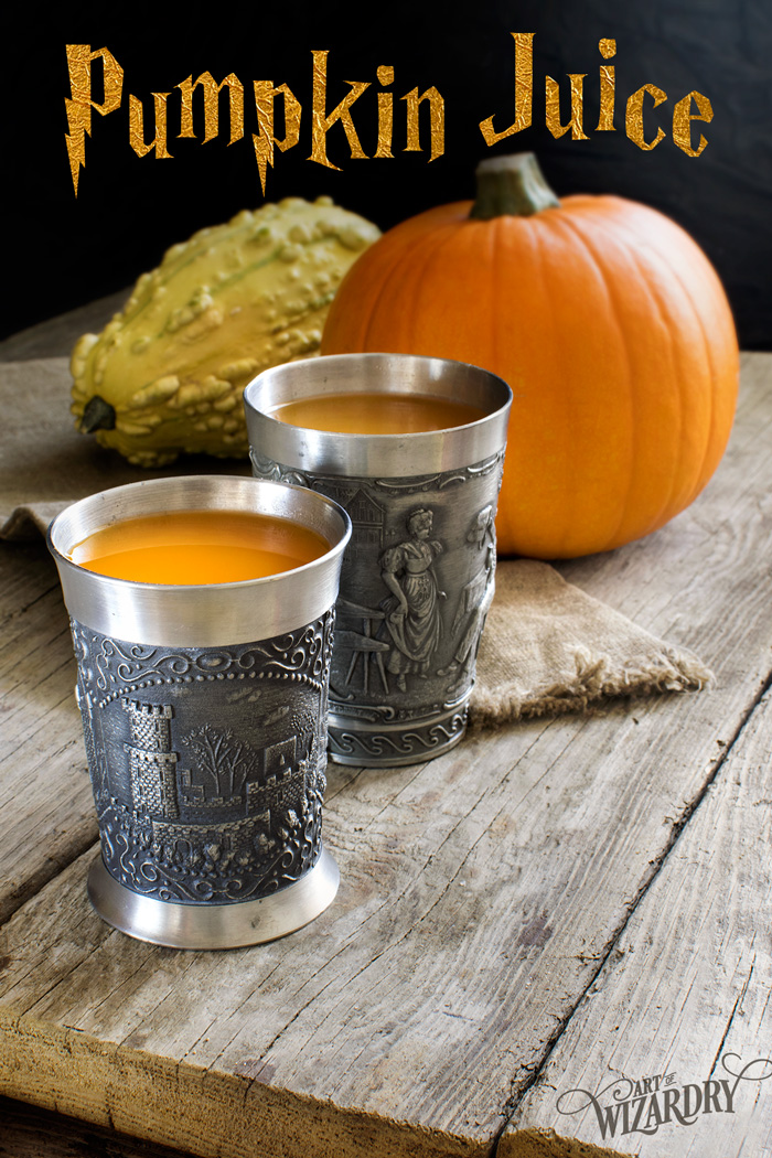 Harry Potter pumpkin juice recipe | Art of Wizardry